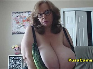 Chubby, Boobs, Grandmother, Big tits, Natural tits, Sucking, Old