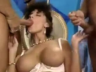 Boobs, Vintage, Antique, Handjob, Tits, Brunette, Retro