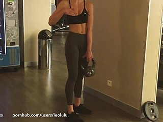 Babe Blonde Ficken Fitness Discounted Youth